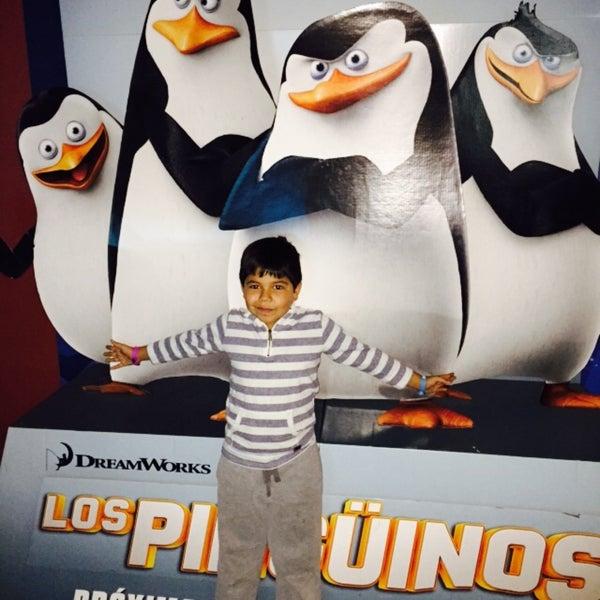Photo taken at Cine Hoyts by Daniel C. on 1/28/2015