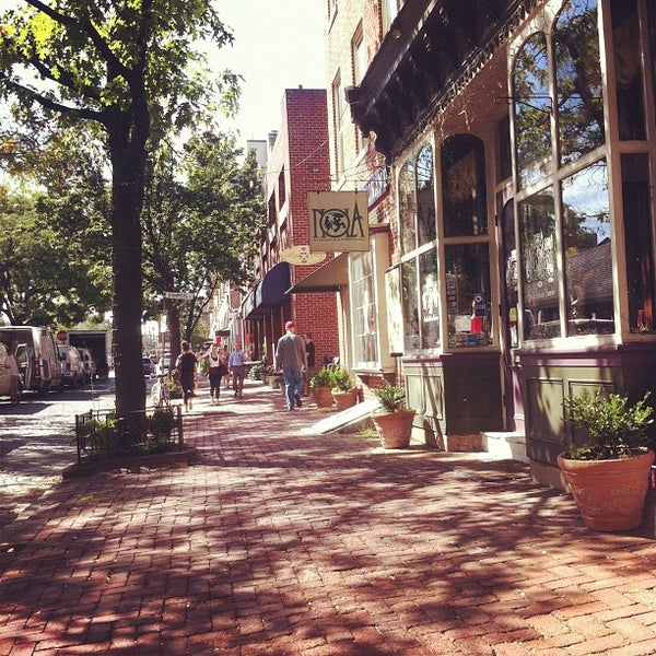 Photo taken at Bodhi Coffee by Justin P. on 9/16/2012