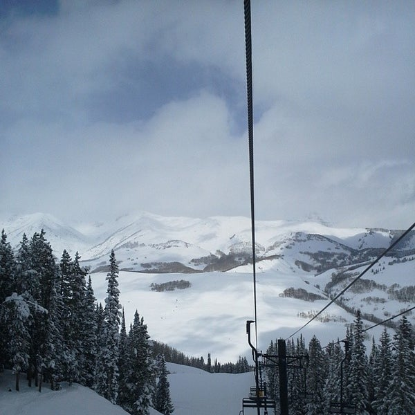 Photo taken at Crested Butte, CO by Will J. on 3/27/2014