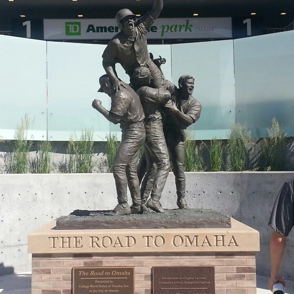Photo taken at TD Ameritrade Park by Kevin H. on 6/16/2013