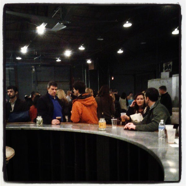 Photo taken at Good People Brewing Company by André N. on 3/7/2013
