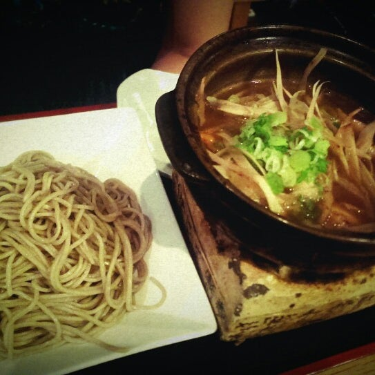 Dip soba is pretty cool with a separate pot of broth!