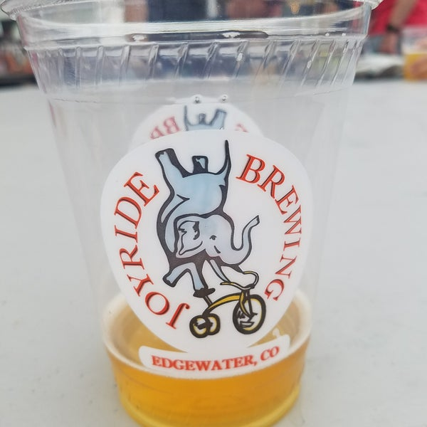Photo taken at Joyride Brewing Company by Peter S. on 7/15/2017