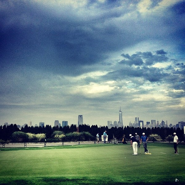 Photo taken at Liberty National Golf Course by David D. on 8/19/2013