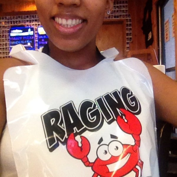 Photo taken at Raging Crab by Elle W. on 8/23/2014