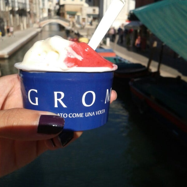 Photo taken at Grom by Natasa K. on 8/17/2014