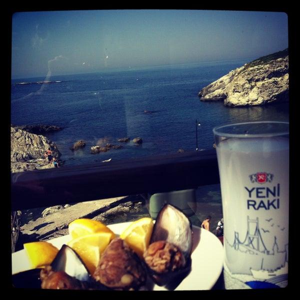 4/28/2013 tarihinde Melte♏ @.ziyaretçi tarafından İyot Restaurant'de çekilen fotoğraf