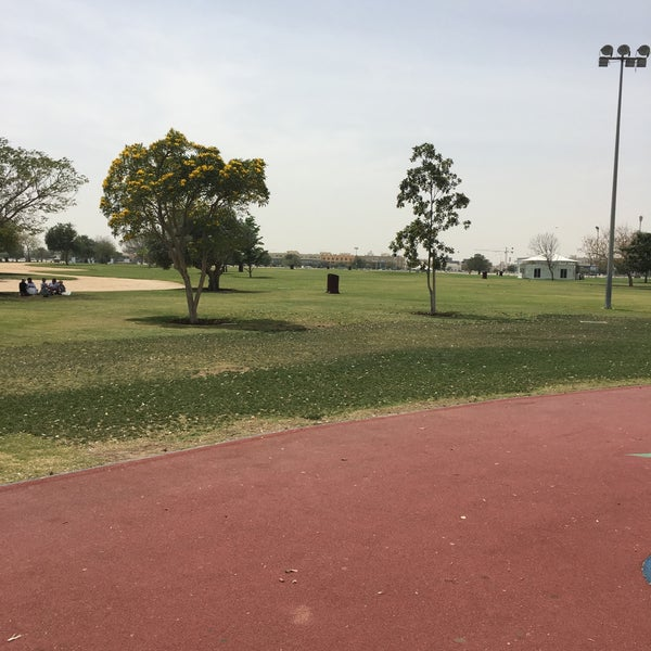 Photo taken at Aspire Park by Luis B. on 3/27/2016