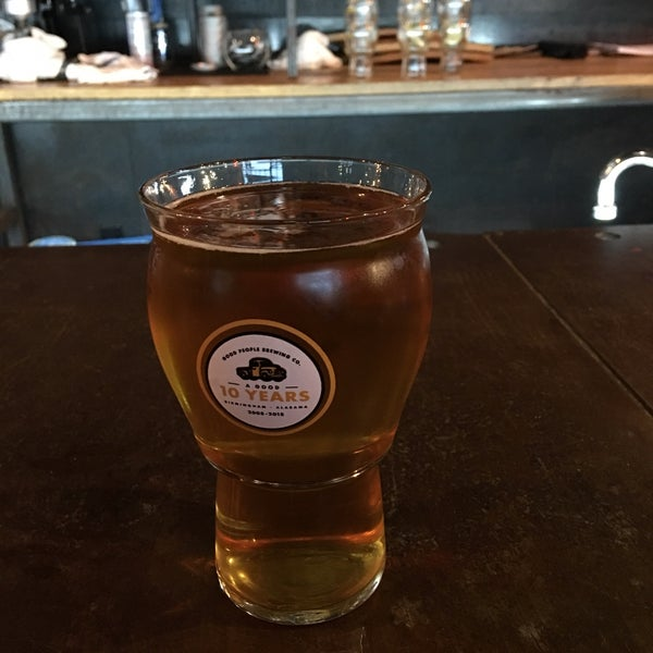 Photo taken at Good People Brewing Company by Ed L. on 4/3/2018