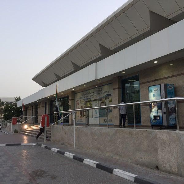 Photo taken at Emirates Post Office مكتب بريد الإمارات by Spv on 5/25/2016