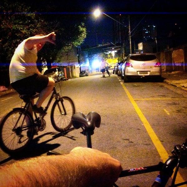 Photo taken at Avenida Presidente Kennedy by Rodrigo P. on 9/10/2014