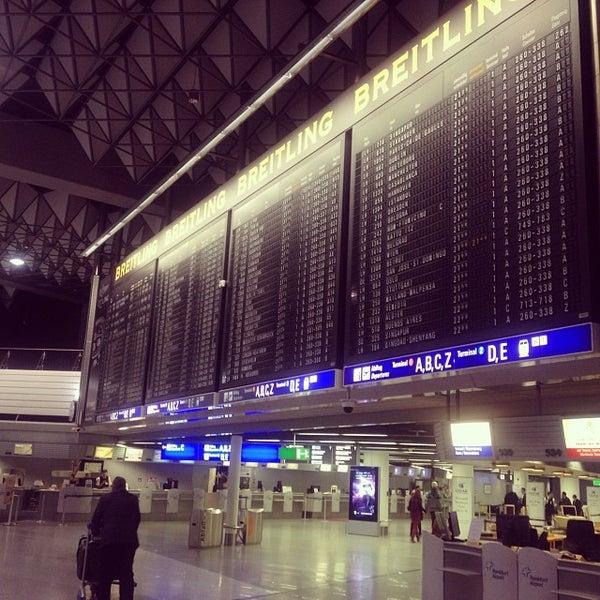 Das Foto wurde bei Frankfurt Airport (FRA) von Deejayceleb am 10/23/2013 aufgenommen