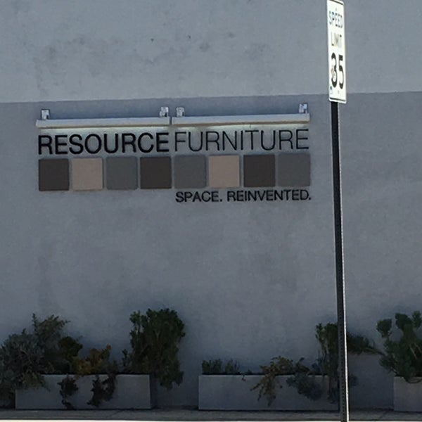 Photo Taken At Resource Furniture Los Angeles By Barry F On 3 17