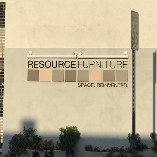 Photo Taken At Resource Furniture Los Angeles By Barry F On 4