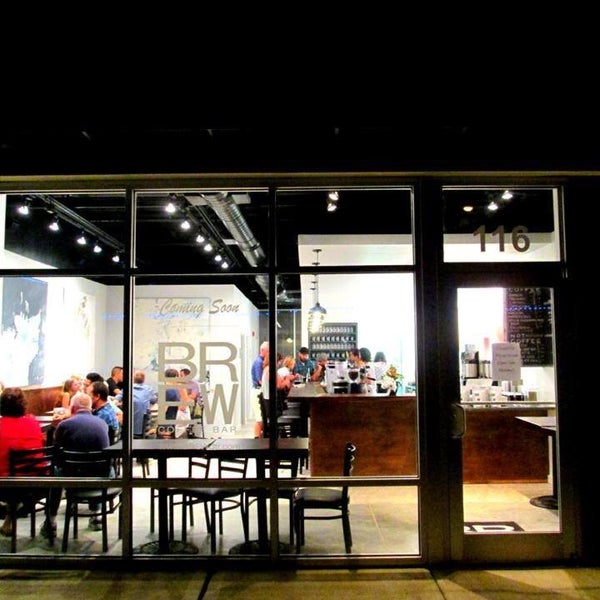 Brew Coffee Bar Raleigh