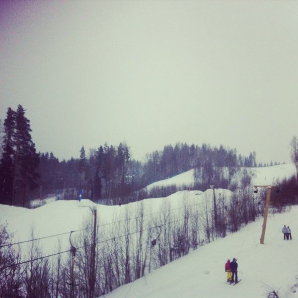Снимок сделан в Красное озеро пользователем Tatiana T. 2/3/2013