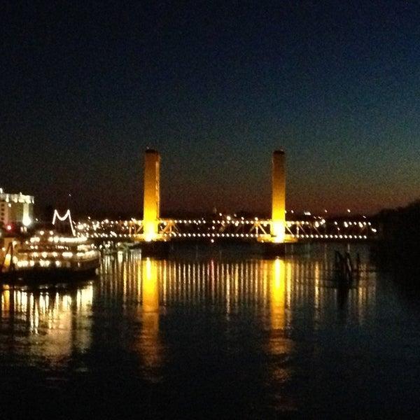 I Street Bridge Br Cke In West Sacramento