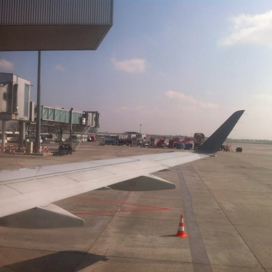 Photo taken at Gate 41 by Aga P. on 4/13/2012