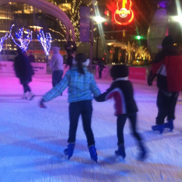 Photo taken at Campus Martius by Rachel P. on 12/25/2012