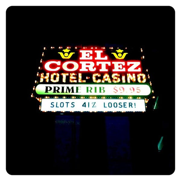 Photo taken at El Cortez Hotel & Casino by Ryan S. on 11/20/2014