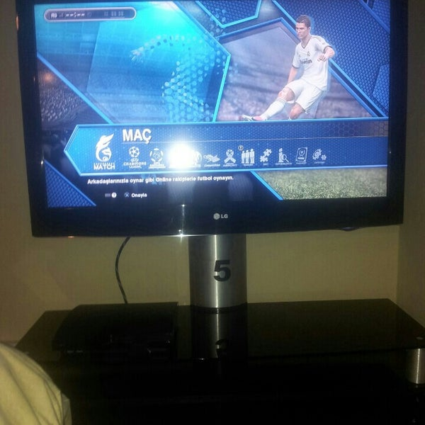 photo taken at omax playstation cafe by ahmet bilal on 932015 - Flat Panel Cafe 2015