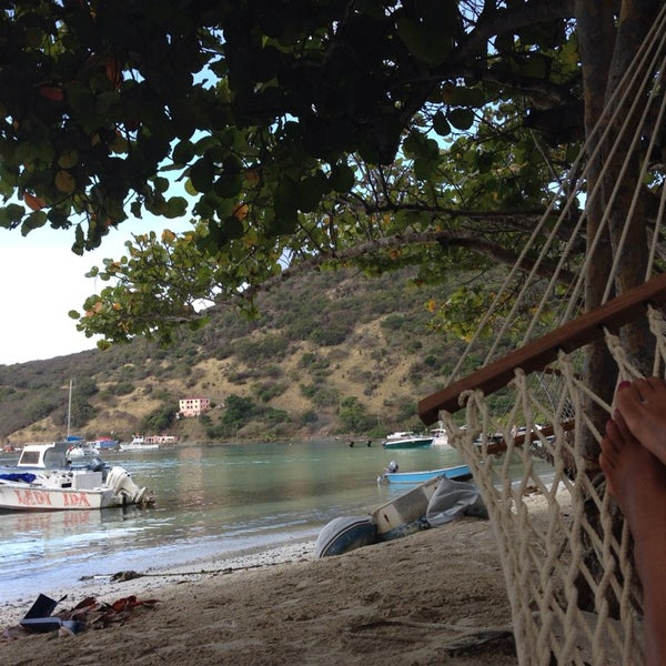 Photo taken at Jost Van Dyke Island by Hae-Oun C. on 3/9/2014