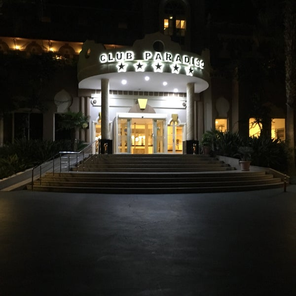 9/1/2017 tarihinde Ali T.ziyaretçi tarafından Club Paradiso Hotel & Resort'de çekilen fotoğraf
