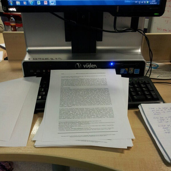 Photo taken at Northumbria University Library by Sorfina Z. on 2/7/2013