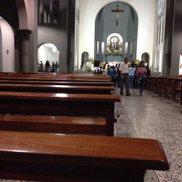Photo taken at Iglesia Nuestra Señora De La Chiquinquira by Dorita G. on 11/9/2013