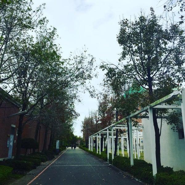 Photo taken at Asia University by Murphy T. on 2/1/2017