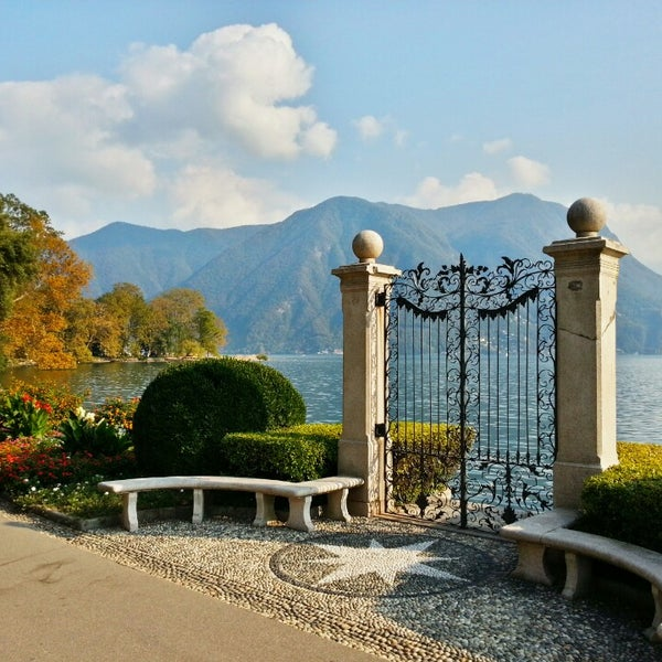 Photo taken at Lago di Lugano by Pier Luigi M. on 9/25/2013