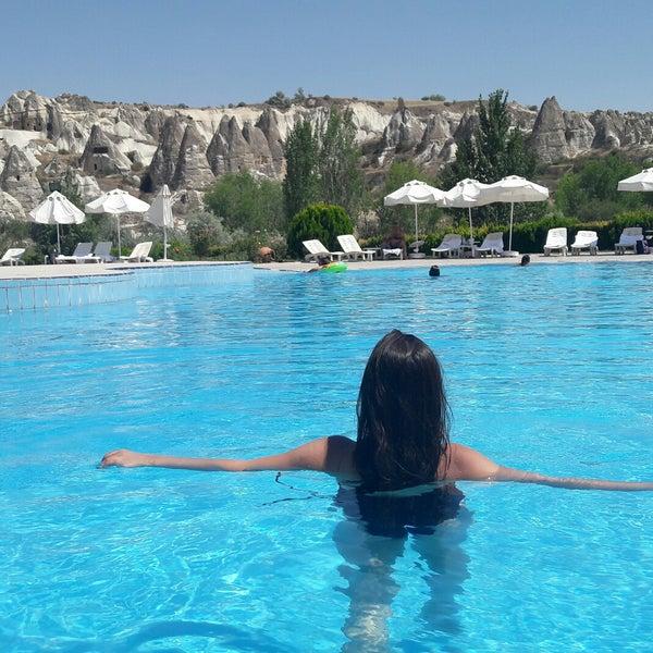8/5/2017 tarihinde Büşra E.ziyaretçi tarafından Tourist Hotels & Resorts Cappadocia'de çekilen fotoğraf