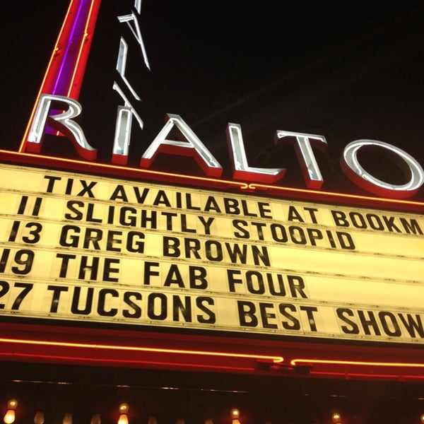 Photo taken at The Rialto Theatre by Carlos P. on 12/21/2012