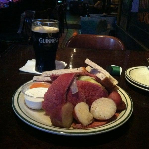 Photo taken at Finn McCool's Irish Sports Pub by Tony G. on 3/20/2013