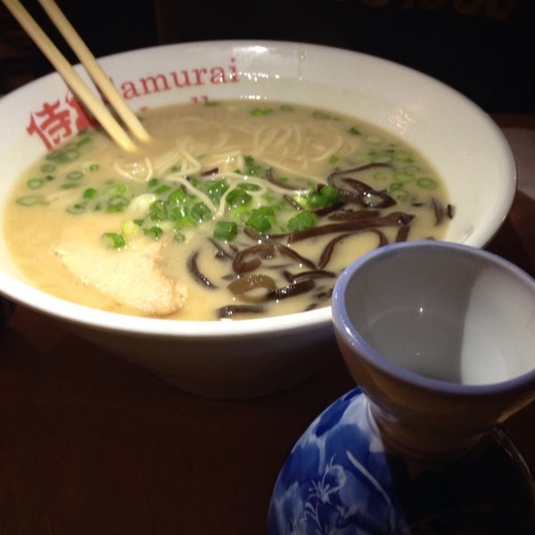 Had the miso soup with all grain noodles (which are made on site), tofu, corn and bean sprouts  The warm sake made it the perfect meal on a cold Autumn evening.