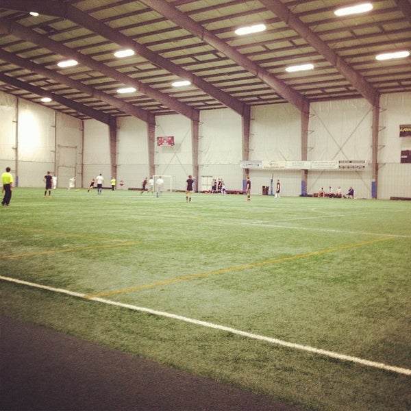 Mansion with indoor soccer field  Pittsburgh Indoor Sports Arena (PISA) - Soccer Stadium in Cheswick