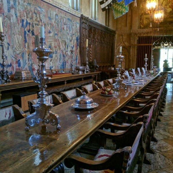 Castle Dining Room: Photos At Hearst Castle Dining Room