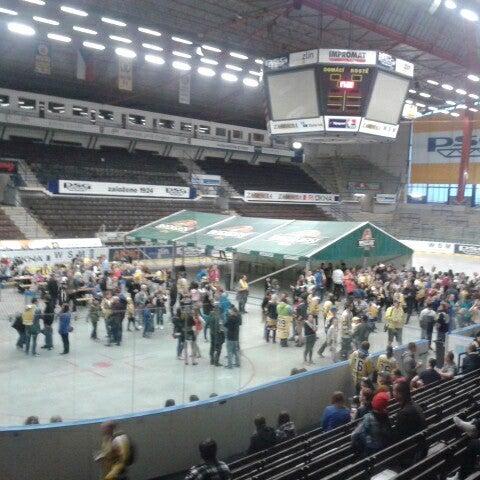 Photo taken at Zimní stadion Luďka Čajky by Jana H. on 5/6/2015