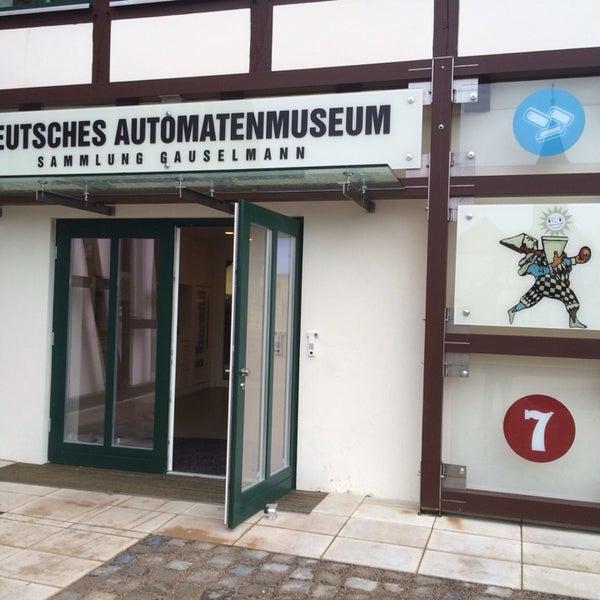 Снимок сделан в Deutsches Automatenmuseum - Sammlung Gauselmann пользователем Sascha W. 12/7/2013