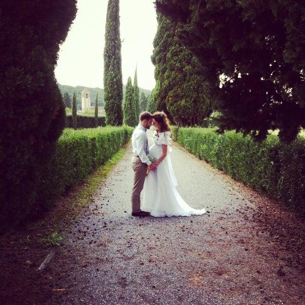 Photo taken at Villa Olmi Firenze by Gustomio on 10/14/2014
