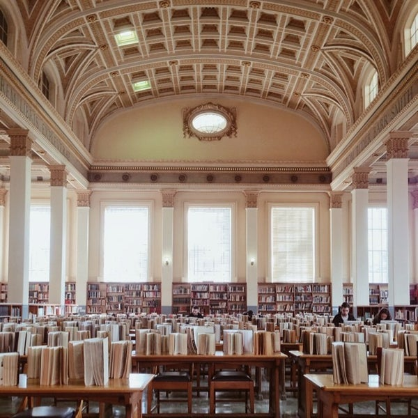 Photo taken at Barr Smith Reading Room by Amir A. on 6/25/2014