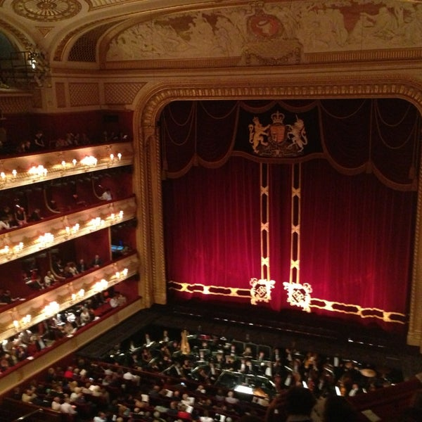 Photo taken at Royal Opera House by Annushka K. on 6/12/2013