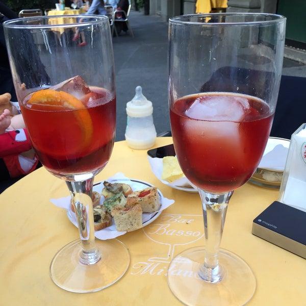 Photo taken at Bar Basso by Marina J. on 5/17/2017
