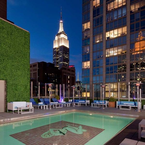 Gansevoort Park Rooftop Nomad New York Ny