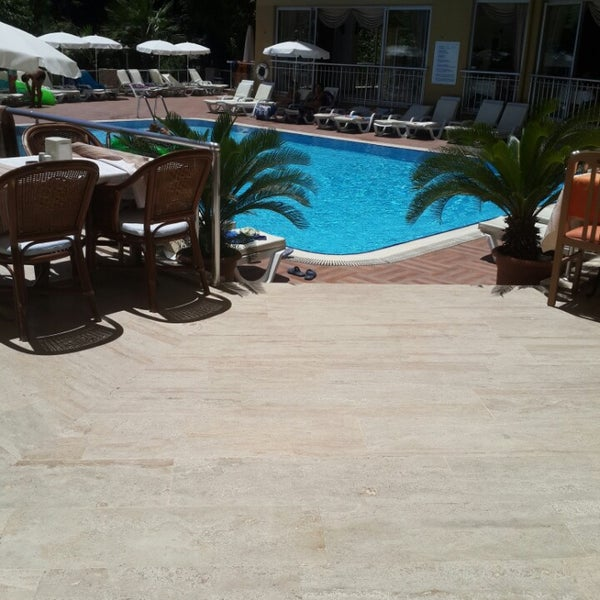 Photo taken at Güneş House Hotel by Canan D. on 6/24/2014
