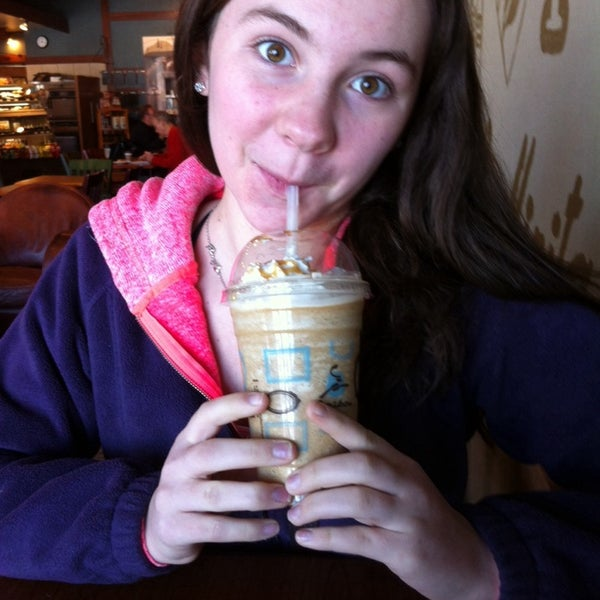Photo taken at Caribou Coffee by Deb S. on 1/18/2014