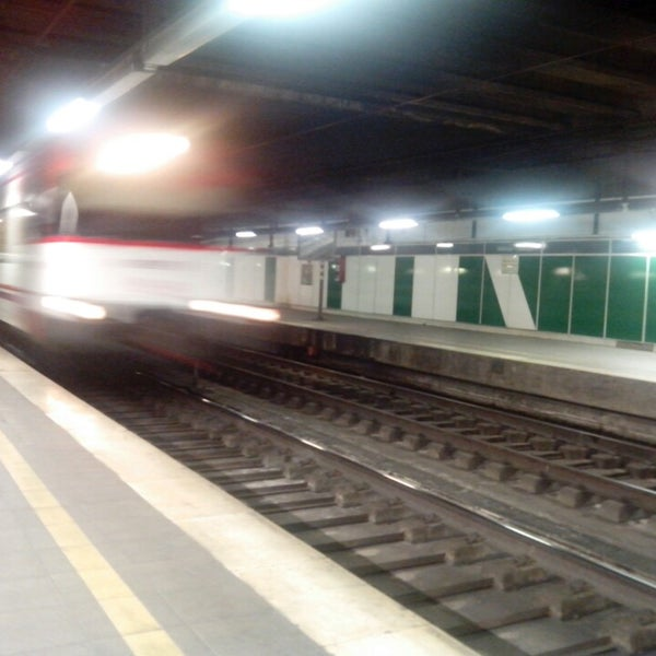 Photo taken at Estació de Tren - València-Cabanyal by Fernando B. on 5/9/2014