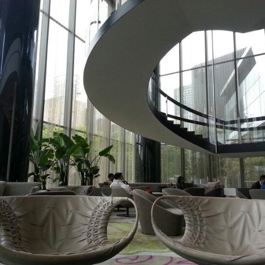Photo taken at Crown Metropol Hotel by Dimitri R. on 10/6/2012