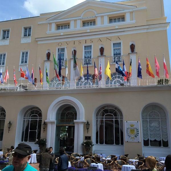 Photo taken at Quisisana Grand Hotel by nandibear on 5/17/2016