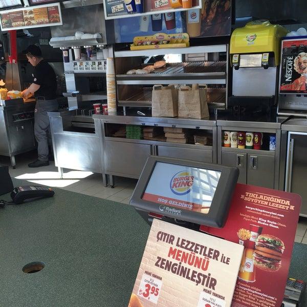 Photo taken at Burger King by Cansu K. on 1/30/2015
